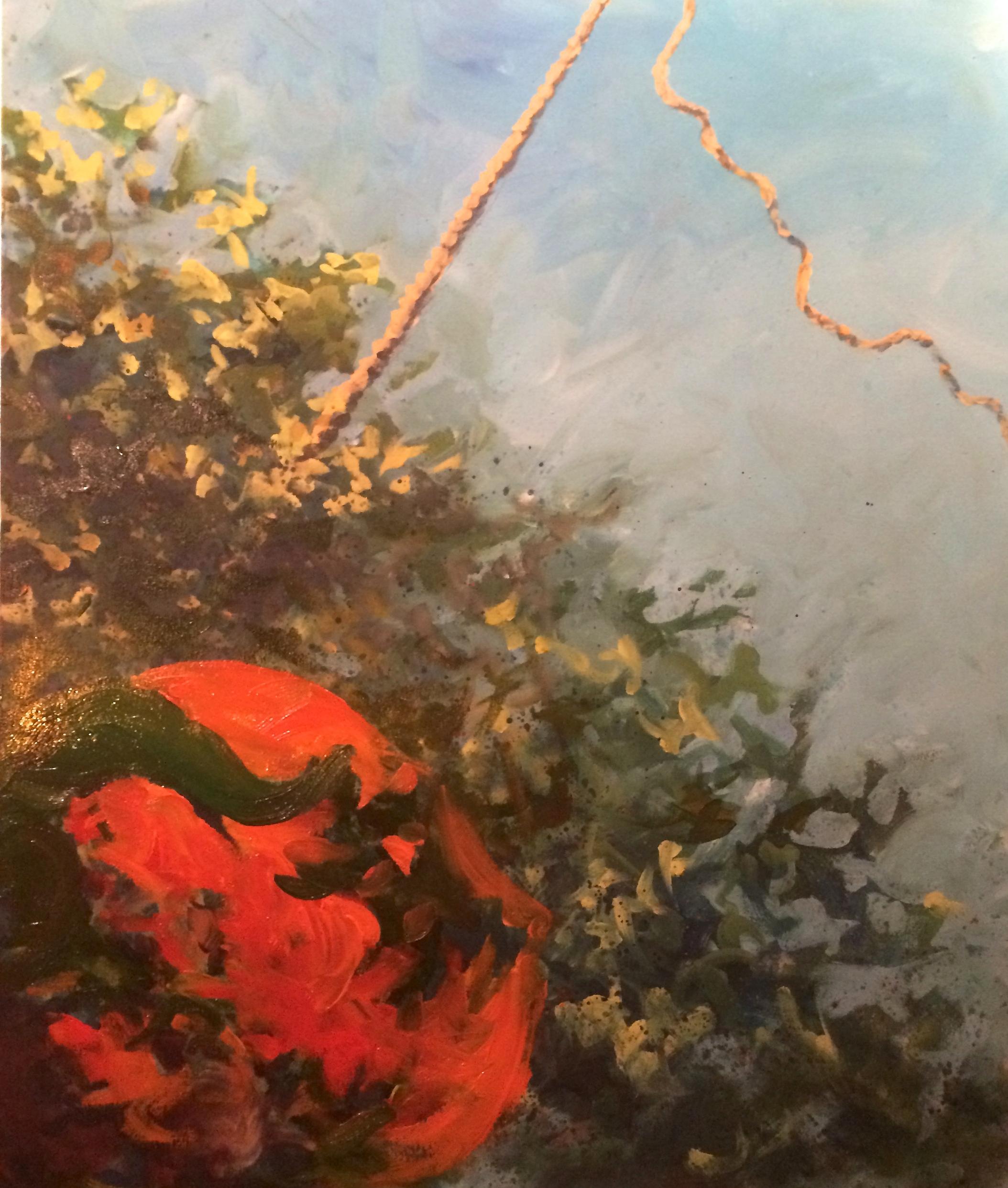 Mistral - acrylic on canvas